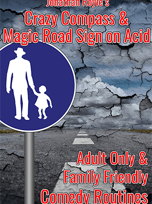The Crazy Compass & Magic Road Sign on Acid by Jonathan Royle Mixed Media DOWNLOAD