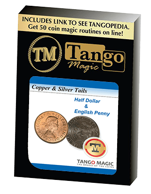 Copper and Silver (Tails) (D0177) by Tango Magic