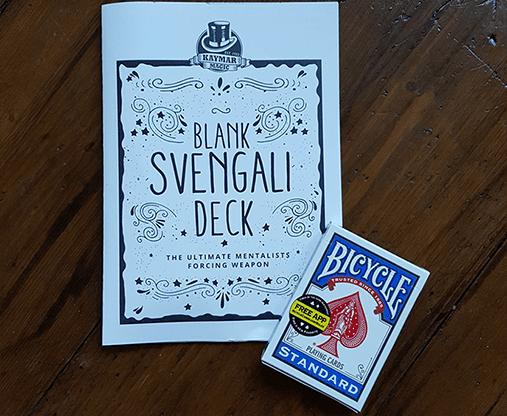 Blank Svengali by Kaymar Magic - Trick