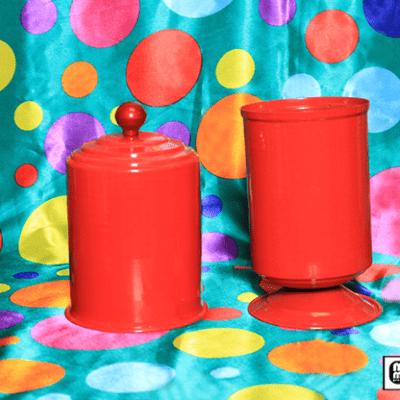 Indian Sweet Vase (Metal) by Mr. Magic - Trick
