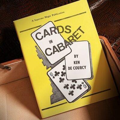 Cards in Cabaret by Ken de Courcy - Book