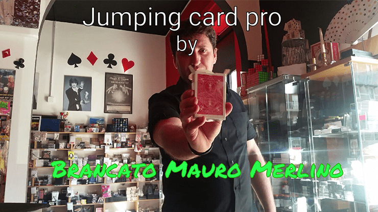 Jumping Card Pro by Brancato Mauro Merlino (magie di merlino) video DOWNLOAD