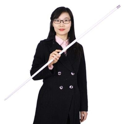 Appearing Cane (Plastic, WHITE) by JL Magic