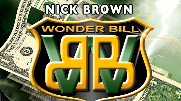 Nick Brown Wonder Bill (DVD and Gimmicks) - DVD