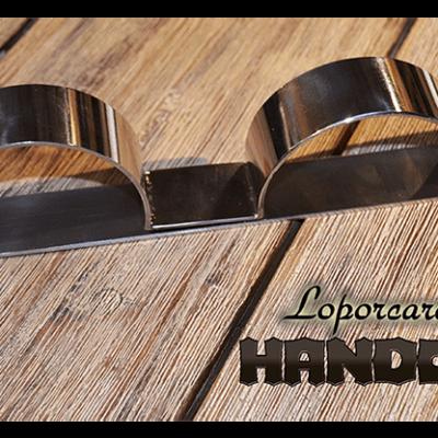 Loporcaro Handcuffs by Amazo Magic - Trick