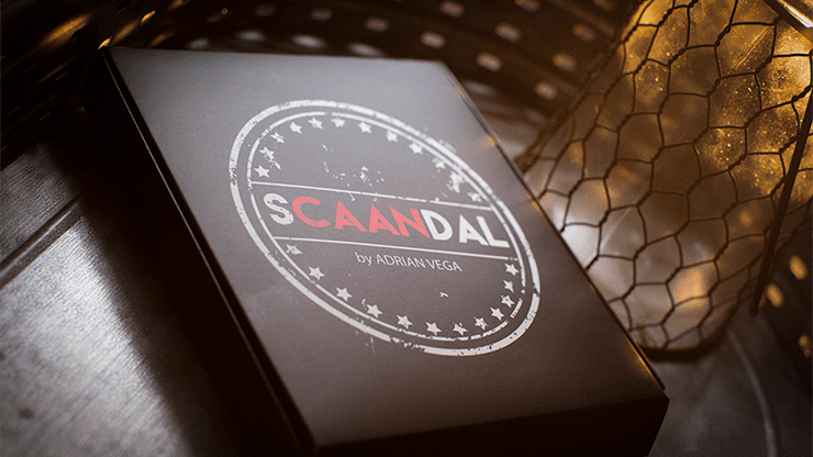 SCAANDAL by Adrian Vega (Online Instructions and Gimmick) - Trick