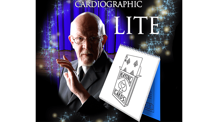 Cardiographic LITE BLACK CARD by Martin Lewis - Trick