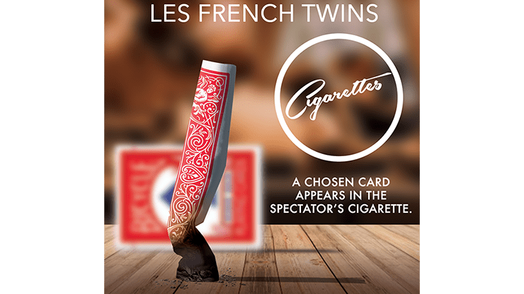 CIGARETTES (Red) by Les French TWINS - Trick