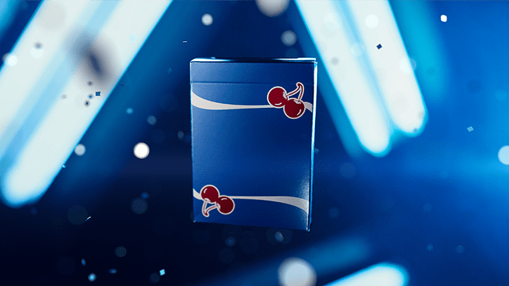 Cherry Casino Playing Cards (Tahoe Blue) by Pure Imagination Projects