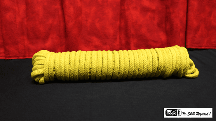 Cotton Rope (Yellow) 50 ft by Mr. Magic - Trick