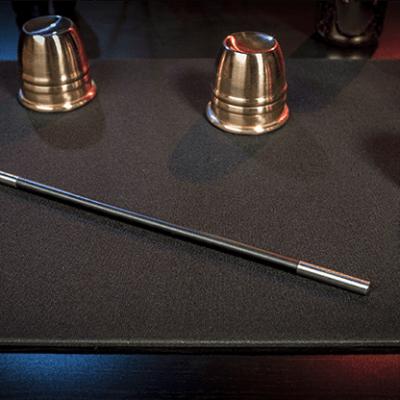 Standard Close-Up Pad 16X23 (Black) by Murphy's Magic Supplies - Trick