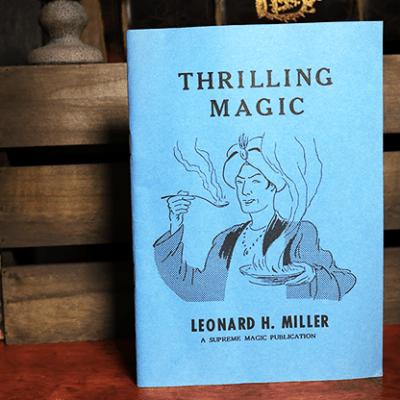 Thrilling Magic by Leonard H. Miller - Book