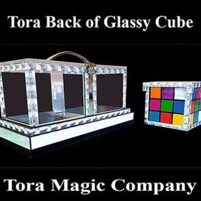 Back of Glassy Cube by Tora Magic