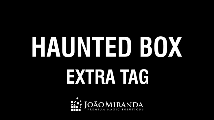 Extra Tag for Haunted Box by João Miranda - Trick