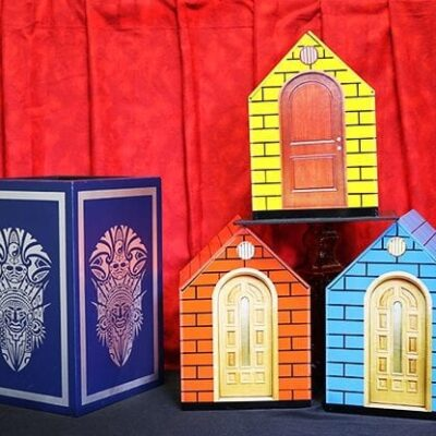 Color Changing Doll House by Mr. Magic - Trick