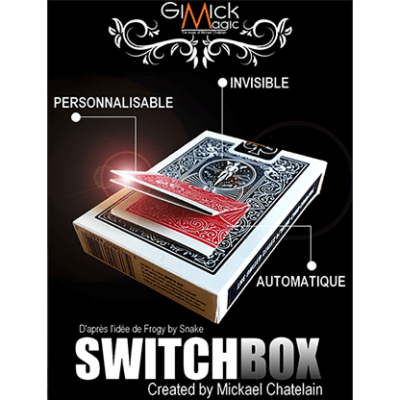 SWITCHBOX (RED) by Mickael Chatelain - Trick