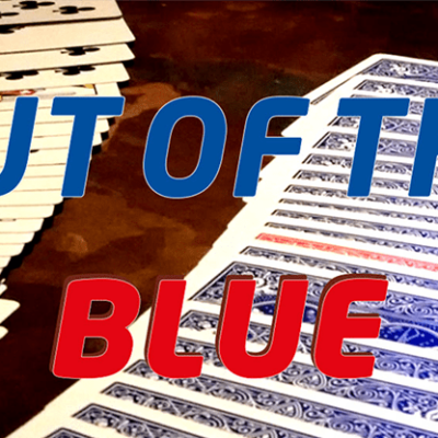 Out Of The Blue (Gimmicks and Online Instructions) by James Anthony and MagicWorld - Trick