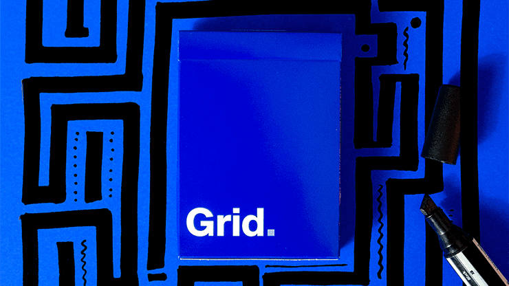 Grid Series Two - Typographic Playing Cards