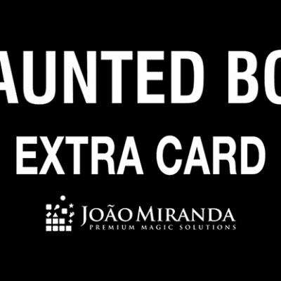 Haunted Box Extra Gimmicked Card (Blue) by João Miranda Magic - Trick