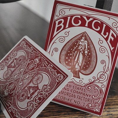Bicycle AutoBike No. 1 (Red) Playing Cards