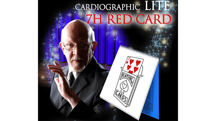 Cardiographic LITE RED CARD by Martin Lewis - Trick