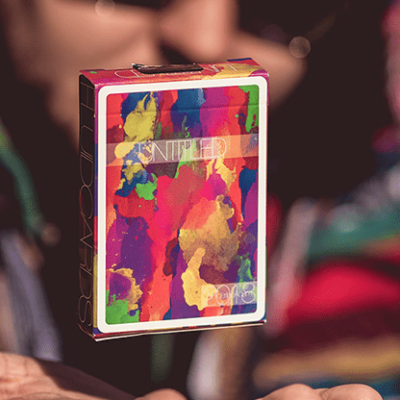 Limited Edition Untitled Playing Cards by Adam Borderline
