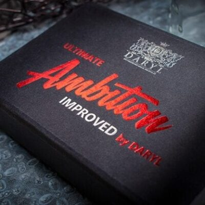 Ultimate Ambition Improved Red (Gimmicks and Online Instructions) by DARYL - Trick