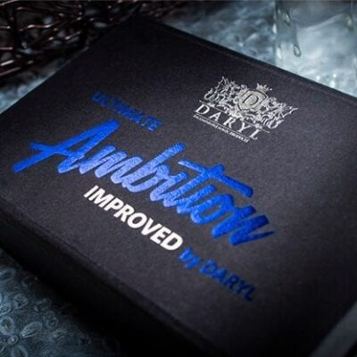 Ultimate Ambition Improved Blue (Gimmicks and Online Instructions) by DARYL - Trick