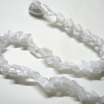 Mouth Coils 46 ft. (White/12 pk.) by Opkoopjes - Trick