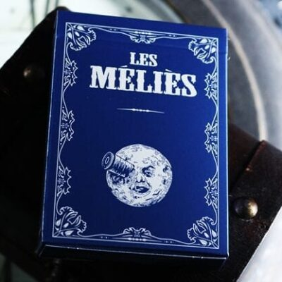 Les Melies Conquest Blue Playing Cards by Pure Imagination Projects