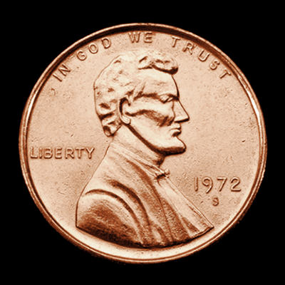 JUMBO 3 inch Penny - Trick