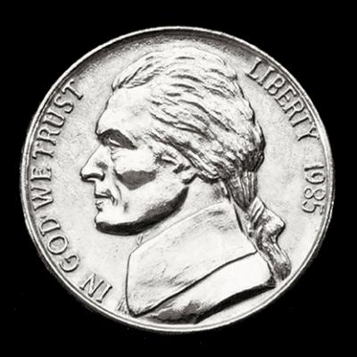 JUMBO 3 inch Nickel - Trick