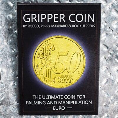 Gripper Coin (Single/Euro) by Rocco Silano - Trick