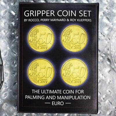 Gripper Coin (Set/Euro) by Rocco Silano - Trick