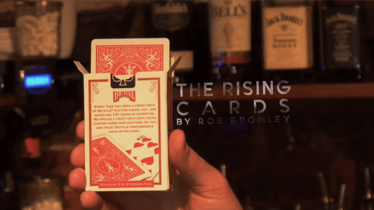 Alakazam Magic Presents The Rising Cards Blue (DVD and Gimmicks) by Rob Bromley - Trick