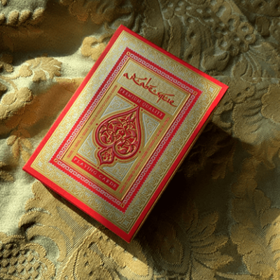 ARABESQUE Playing Cards - Player's Edition (Red) by Lotrek