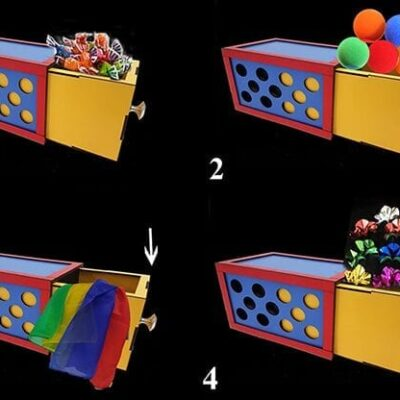 DRAWER BOX WITH HOLES (3X) by Tora Magic