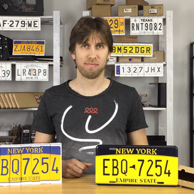 LICENSE PLATE PREDICTION - NEW YORK (Gimmicks and Online Instructions) by Martin Andersen - Trick