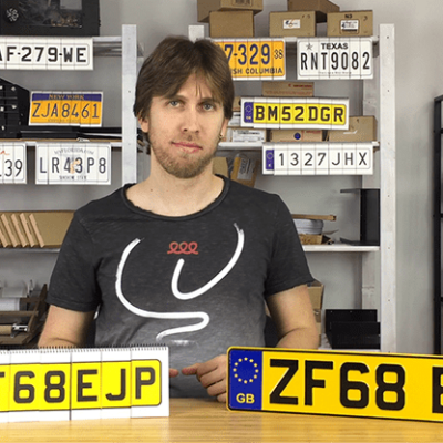 LICENSE PLATE PREDICTION - UNITED KINGDOM (Gimmicks and Online Instructions) by Martin Andersen - Trick
