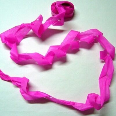 Mouth Coils 46 ft. (Pink/12 pk.) by Opkoopjes - Trick