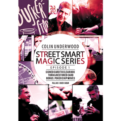 Colin Underwood: Street Smart Magic Series - Episode 1 by DL Productions (South Africa) video DOWNLOAD