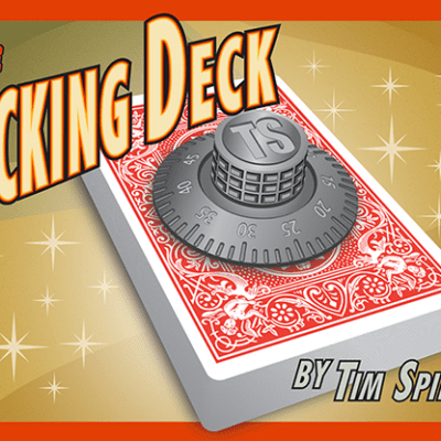 The Locking Deck (RED) by Tim Spinosa - Trick