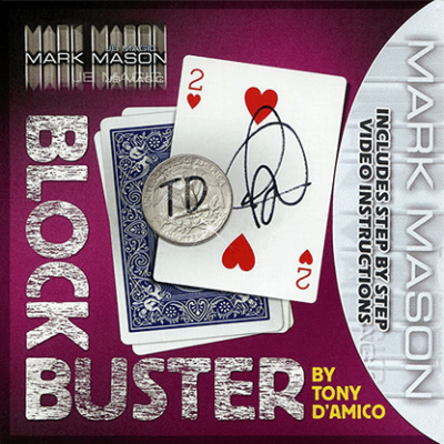 BLOCK BUSTER Red (Gimmick and Online Instructions) by Tony D'Amico and Mark Mason - Trick