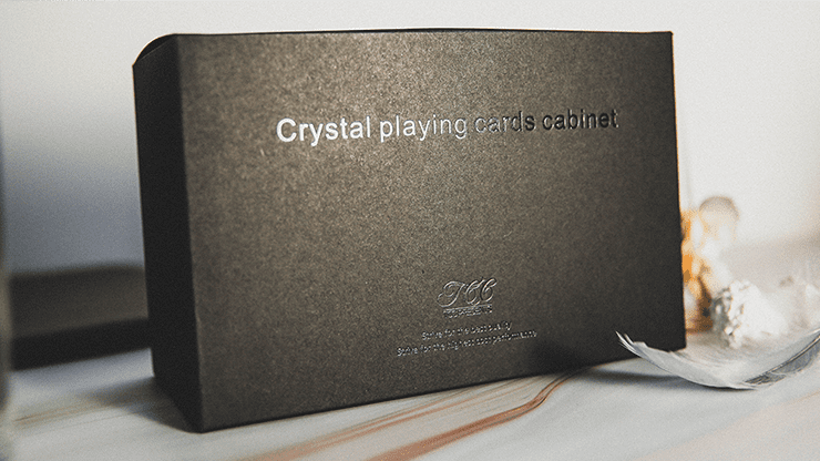 Crystal Playing Cards Cabinet by TCC - Trick