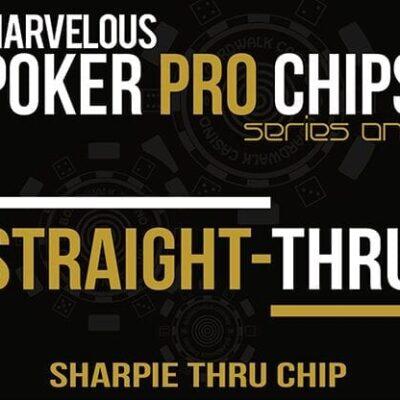 Straight Thru - Sharpie Thru Chip (Gimmicks and Online Instructions) by Matthew Wright - Trick