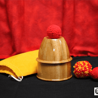 Chop Cup (Wooden) by Mr. Magic - Trick