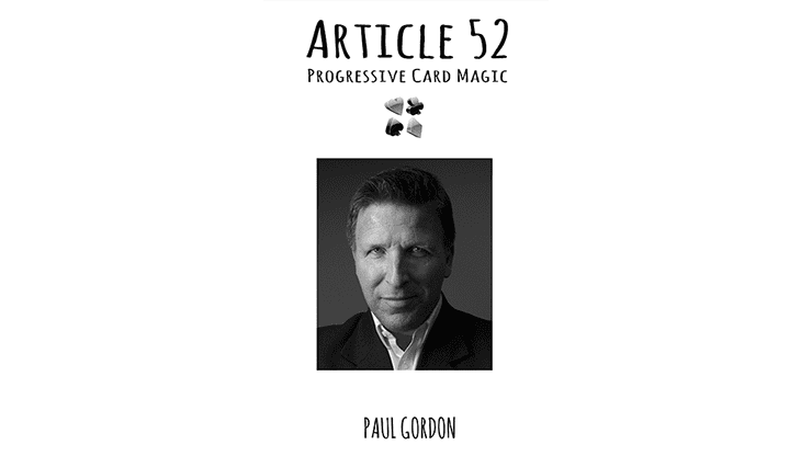 Article 52 by Paul Gordon - Book