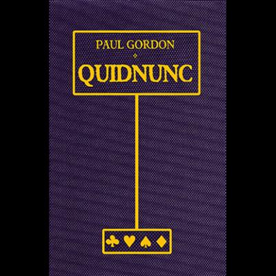 Quidnunc by Paul Gordon - Book
