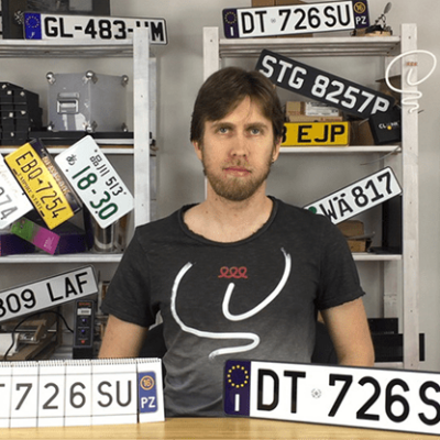 LICENSE PLATE PREDICTION - ITALY (Gimmicks and Online Instructions) by Martin Andersen - Trick