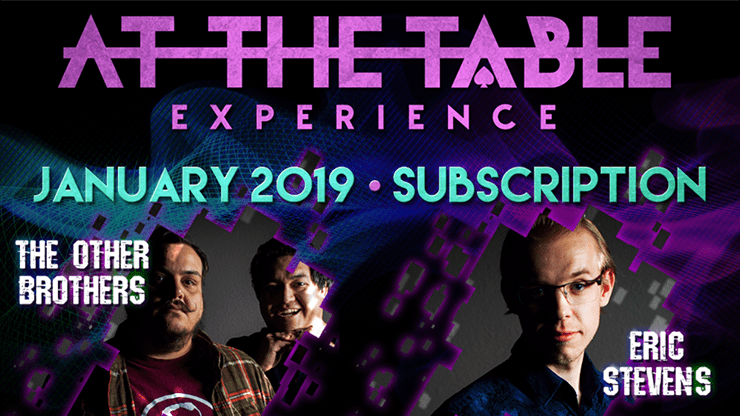 At The Table January 2019 Subscription video DOWNLOAD